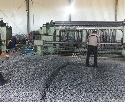 石籠網車間加工制造現場