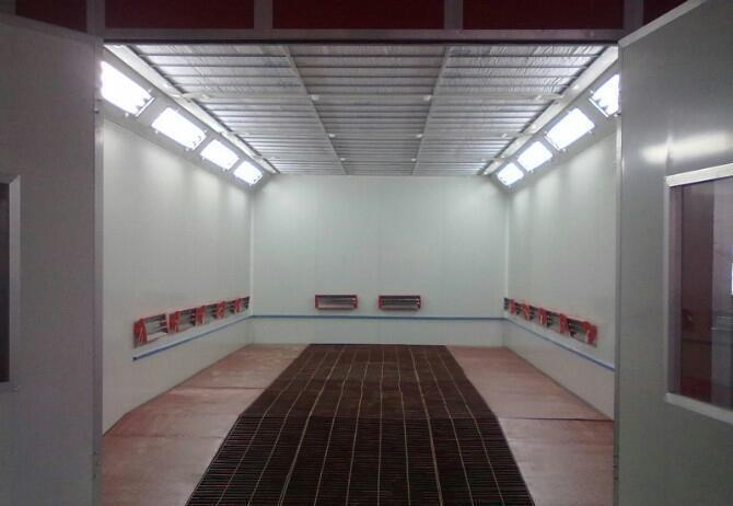 新疆烤漆房安装