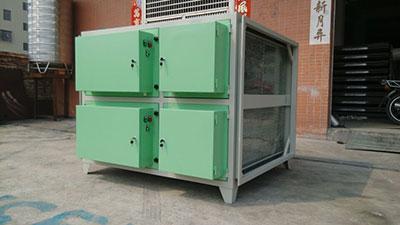 单端式低空排放油烟净化器