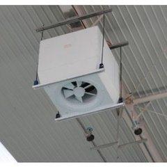 高大空间热水暖风机