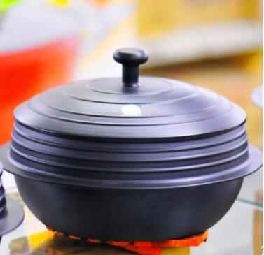 湖北礼品-养生铸铁锅定制