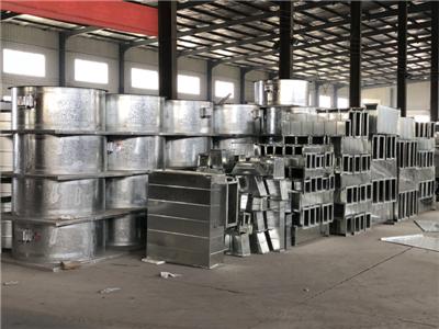 森诺专注加工生产不锈钢风管