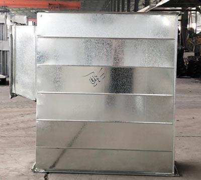 森诺有着先进的镀锌板风管制造工艺