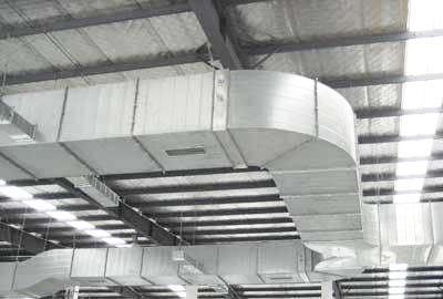 镀锌板风管成功案例