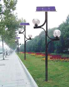 太阳能路灯的应用原则分析