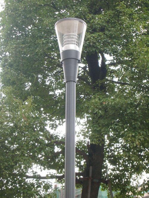 户外太阳能庭院灯成功案例
