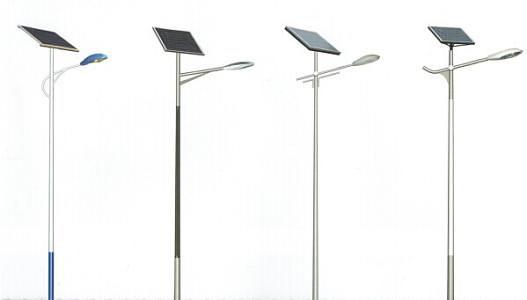 太阳能灯杆喷塑