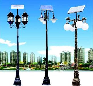 节能户外太阳能庭院灯