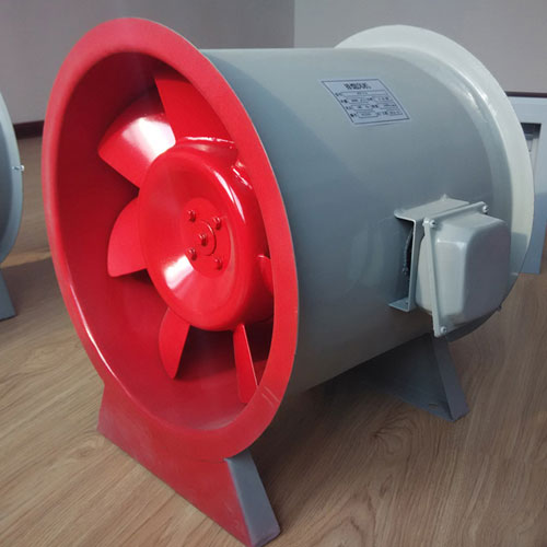 消防高溫排煙風機在長時間停機啟動時應注意哪些事項