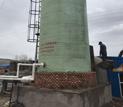 内蒙额尔古纳,脱硫塔安装施工