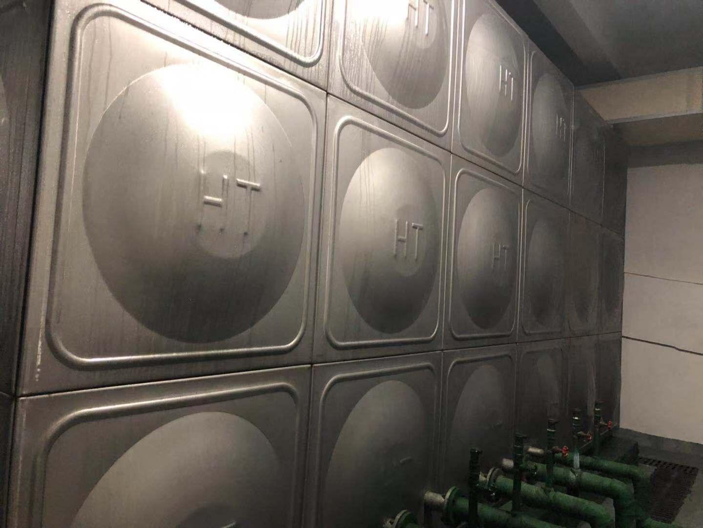 西安水箱消毒清洗案例