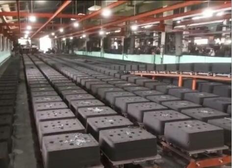 水平造型线设备厂区环境