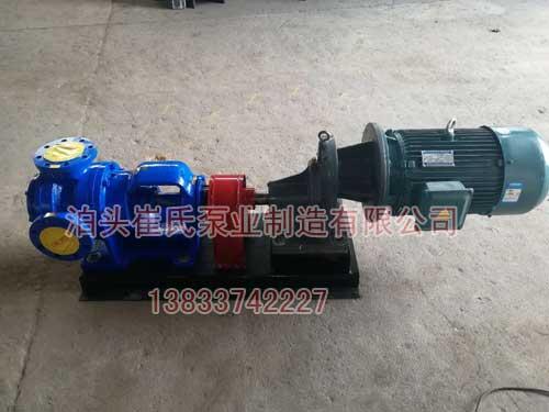 高粘度保温泵选型及密封形式介绍