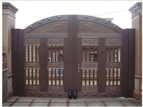 呼市不锈钢加工-仿铜门