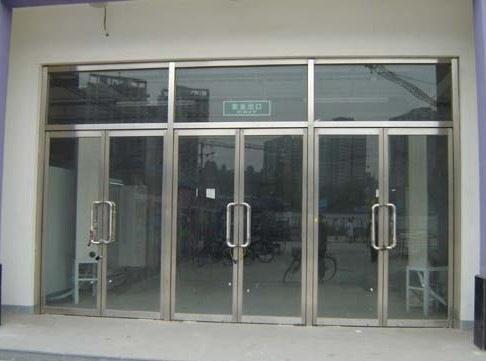 不锈钢玻璃门的长处