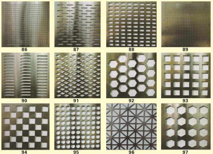 不锈钢加工-冲孔