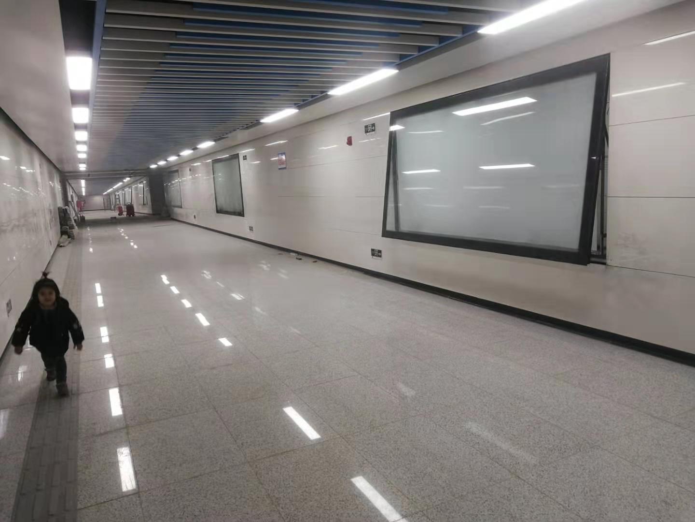金广源不锈钢与地铁站合作