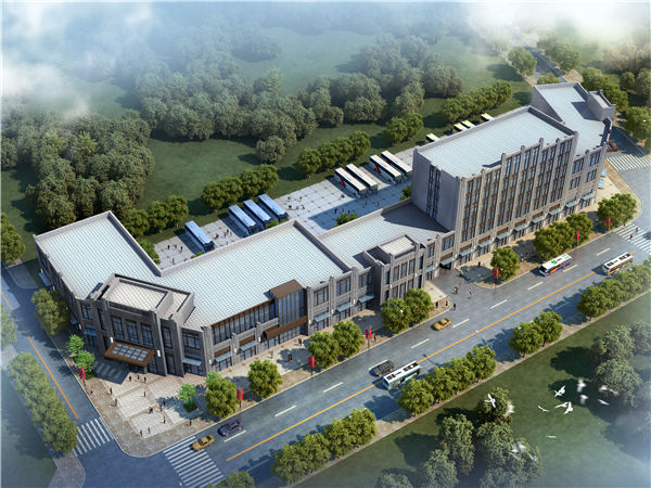 秦安客運中心建築設計