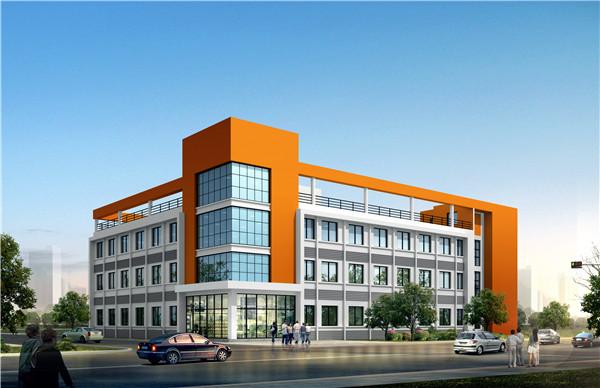 飛輪電氣化辦公樓鋼結構設計
