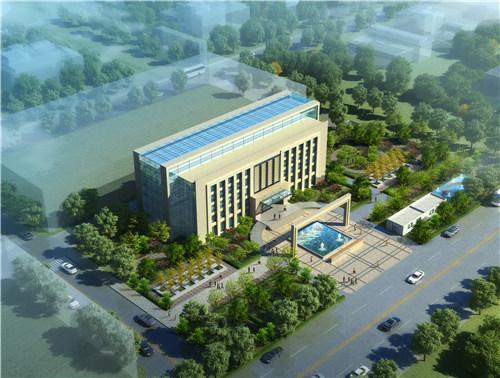 宏恩環保辦公樓建築設計