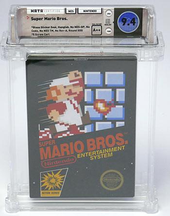 34年前的超级马里奥游戏卡匣拍卖 近68万成交