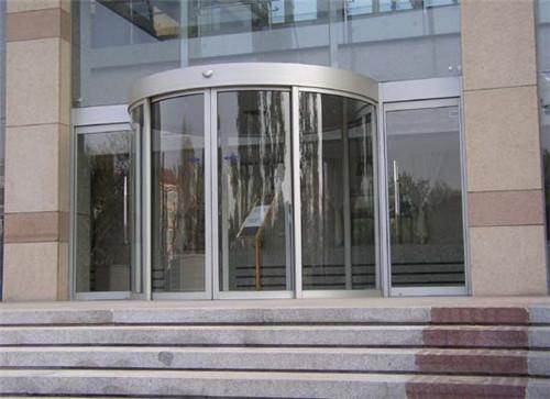 陕西玻璃自动门案例-多吉酒店