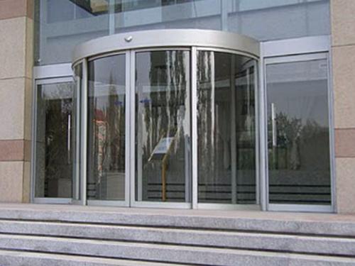 陕西玻璃自动门-圆弧自动感应门
