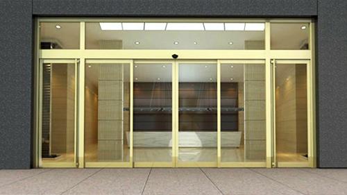 陕西玻璃自动门-自动平移感应门
