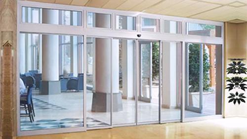 陕西玻璃自动门-自动平开感应门
