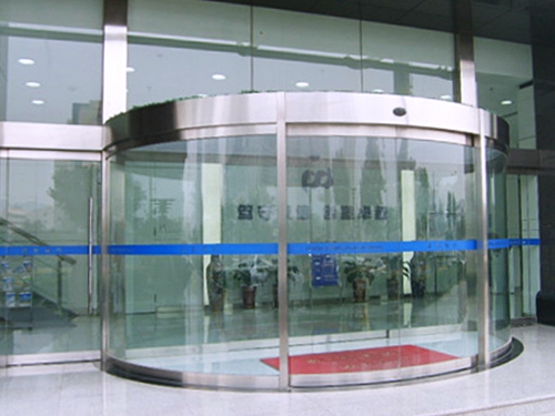 陕西玻璃自动门-弧形感应门