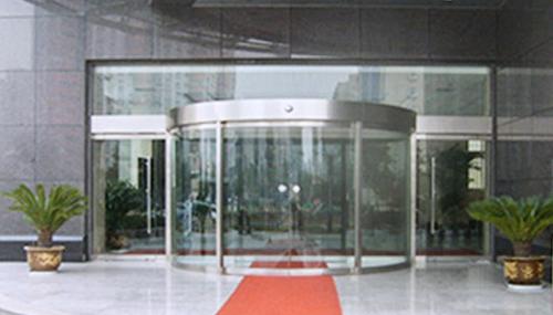 陕西玻璃自动门-自动圆弧感应门