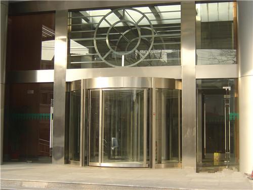 玻璃自动门案例-咸阳商务酒店