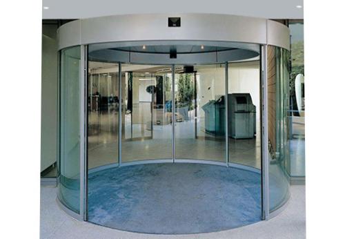陕西玻璃自动门-圆弧感应门