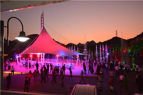 贵州房车基地音乐喷泉