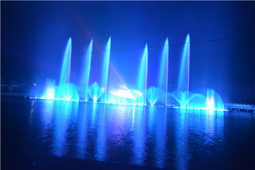贵州飘浮式音乐喷泉合作