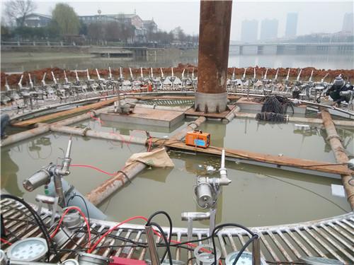 云景喷泉与新郑新区四川漂浮式喷泉合作