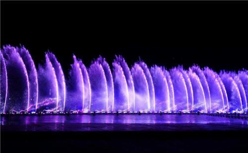 新郑新区漂浮音乐喷泉合作