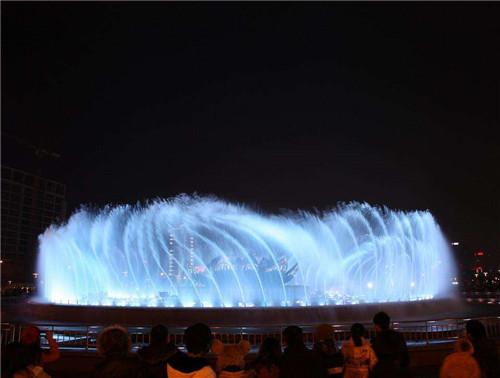 湖南奥特莱斯广场喷泉合作