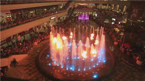 四川喷火喷泉