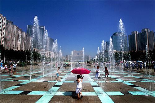 四川迷宫喷泉设计
