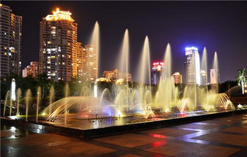 四川程控喷泉施工