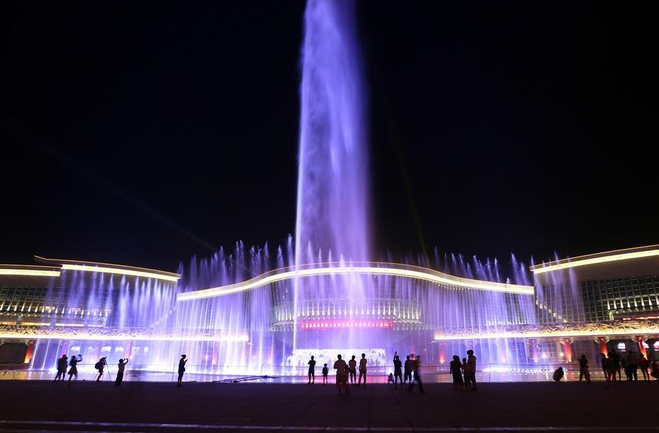四川旱喷泉工程