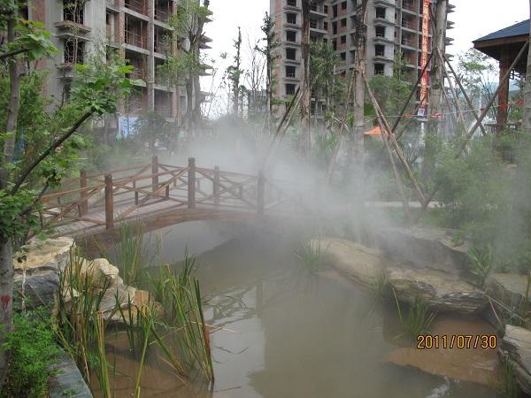 四川人工造雾设计