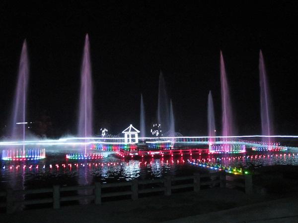 成都音乐喷泉安装