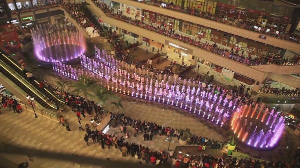 四川广场喷泉安装