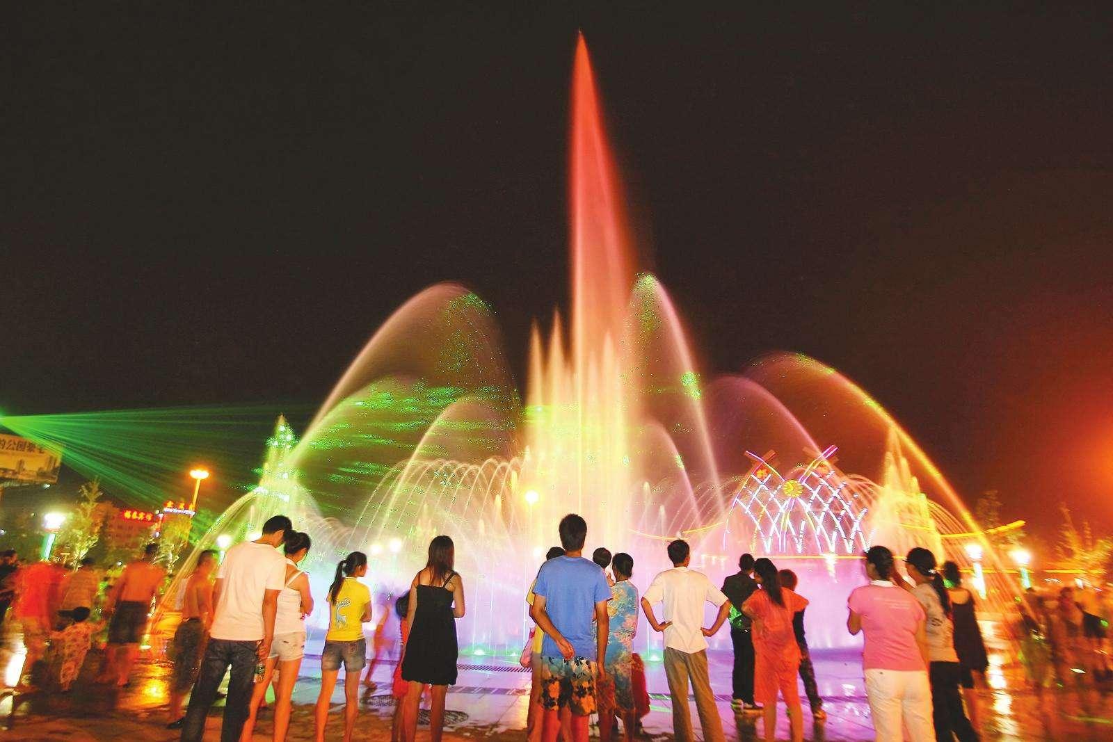 四川广场喷泉工程