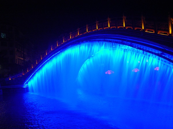 四川桥上喷泉生产
