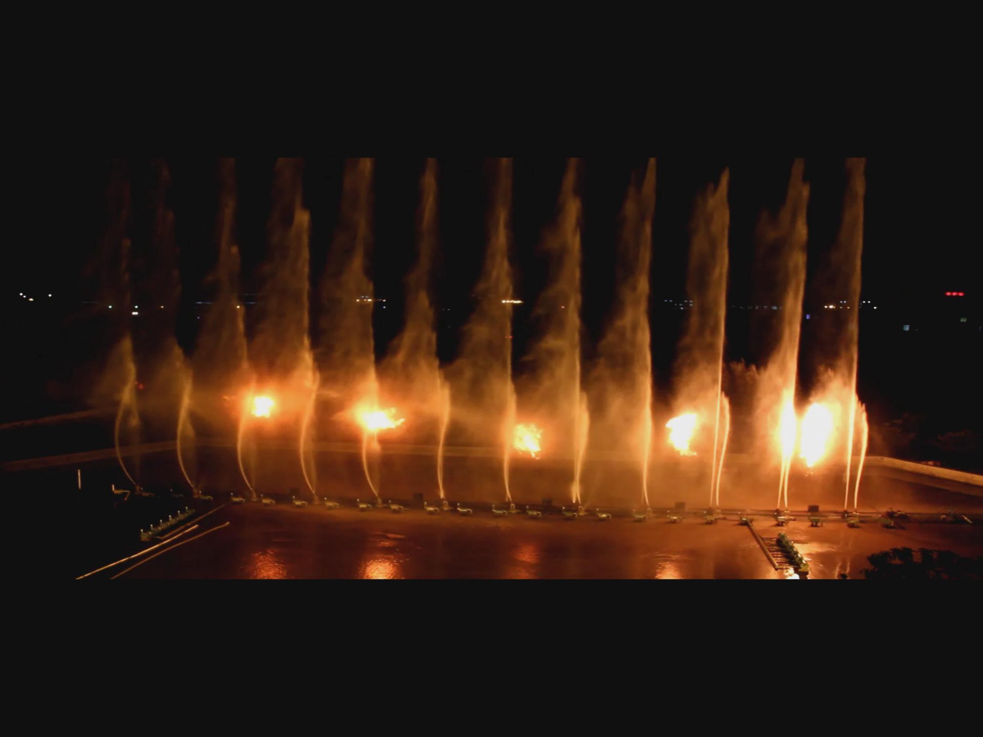 四川喷火喷泉设计