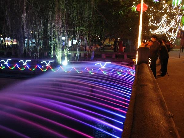 四川大桥喷泉