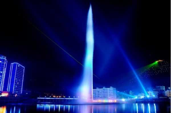 四川百米高喷设计